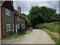 TQ4206 : The old poor  houses at Rodmell, East Sussex by nick macneill