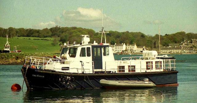 The Strangford Lough passenger ferry