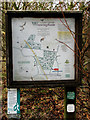 TM1598 : Information board beside the path by Evelyn Simak