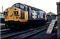 NX0660 : Stranraer Town railway depot by Albert Bridge