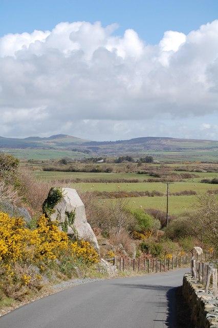 Aberdaron - Y Rhiw looking towards Llandegwning