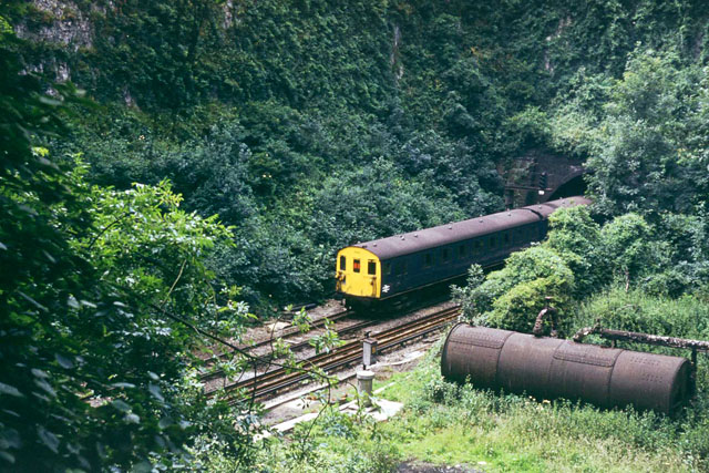 The gap in Higham Tunnel
