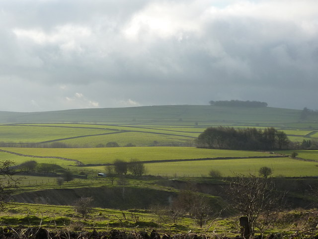 View south west from Kenslow Knoll