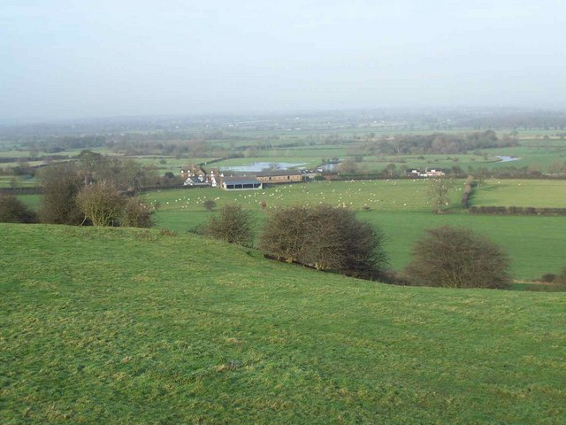 Fauld Hall From Stonepit Hills