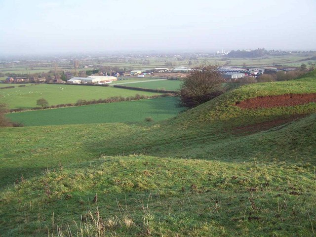 Fauld Industrial Estate From Stonepit Hills