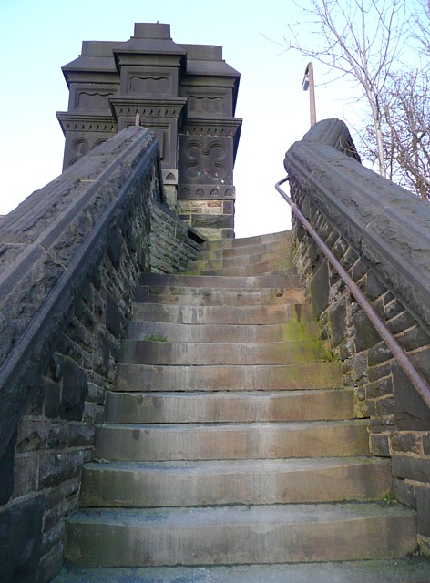 Steps at Godley Bridge, Halifax