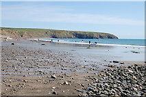 SH1726 : Aberdaron - Traeth/Beach by Ken Bagnall