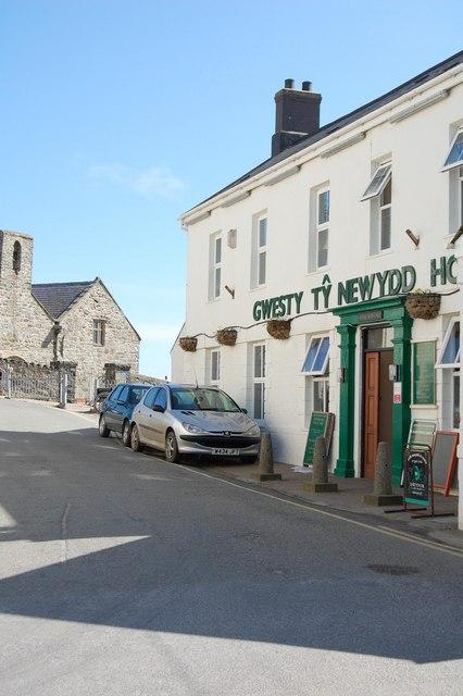 Aberdaron - Gwesty Tŷ Newydd/The Tŷ Newydd Hotel