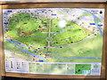 TQ1470 : Bushy Park Map by Colin Smith