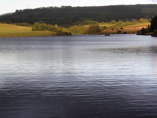 Golden Falls Lake