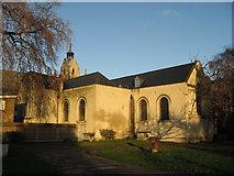 TQ3379 : St Mary Magdalen Church, Bermondsey, London  viewed from the churchyard by Richard Rogerson