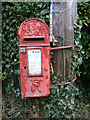 SK6839 : Saxondale Village postbox (ref 71R) by Alan Murray-Rust