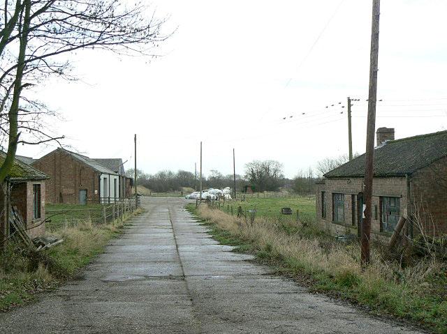 Farm buildings, Lodge Farm by Alan Murray-Rust