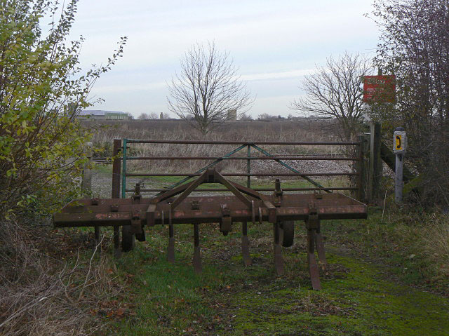 Traditional restriction on access by Alan Murray-Rust