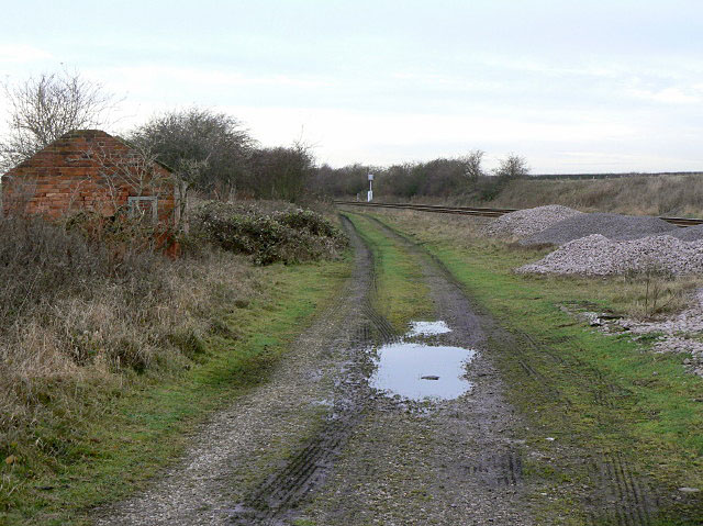 Site of Saxondale Junction by Alan Murray-Rust