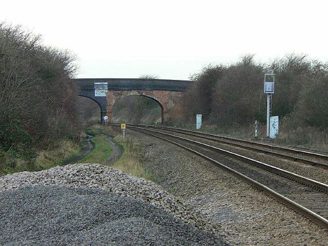 Saxondale Junction and Lammin's Bridge by Alan Murray-Rust