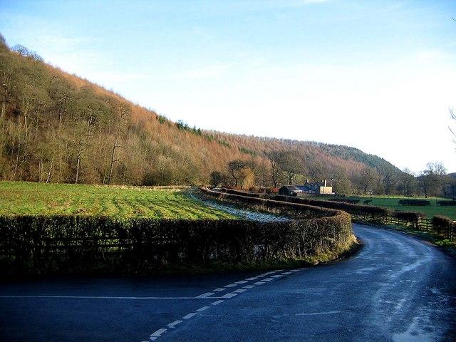 Lane junction, Ryedale