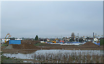 TQ8789 : New railway station at Southend Airport by terry joyce