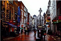 O1533 : Dublin - Anne Street South - Seen from Grafton Street by Joseph Mischyshyn