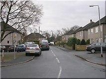 SE1127 : St Matthew's Drive - Lydgate by Betty Longbottom