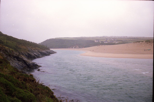 The Gannel from Pentire