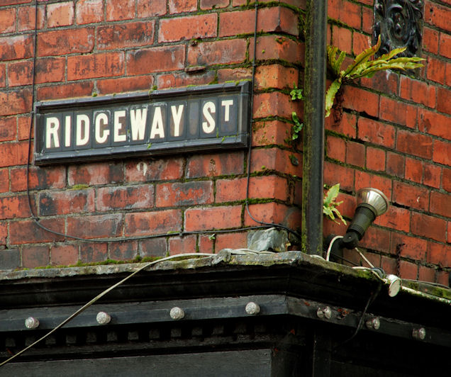 Doomed street sign, Belfast