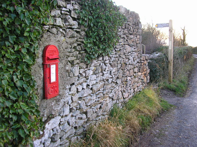 Georgian postbox, Far Arnside