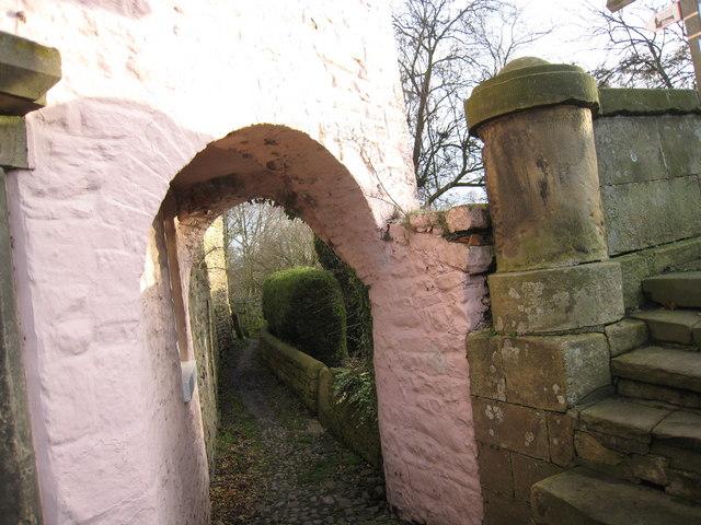 Walkers' tunnel in Piercebridge