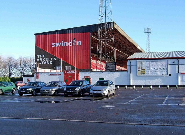 The Arkell's Stand (external view), Swindon Town Football Club, The County Ground