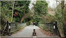 J3269 : The Clement Wilson footbridge, Newforge, Belfast (1) by Albert Bridge