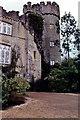 O2245 : Malahide Castle - Vertical view of southeast corner by Joseph Mischyshyn