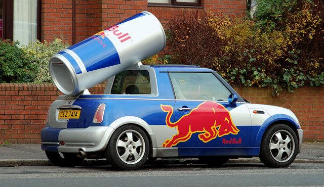 """""""Red Bull"""" MINI, Belfast"""