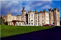 N8096 : Kingscourt - Cabra Castle view from entrance driveway by Joseph Mischyshyn