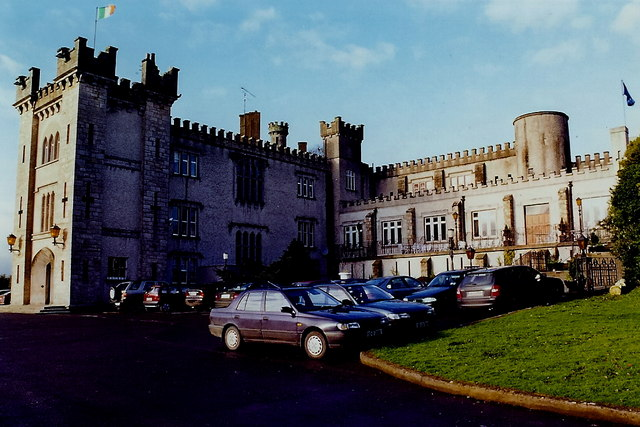 Kingscourt - Cabra Castle entrance - View to north