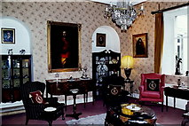 N8096 : Kingscourt - Cabra Castle - Another interior sitting room by Joseph Mischyshyn