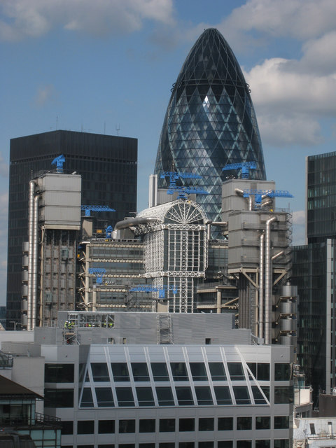 Lloyds Building & The Gherkin