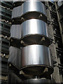 TQ3381 : Lloyds Building Detail by Oast House Archive