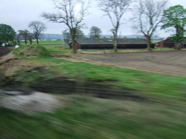 Former railway trackbed