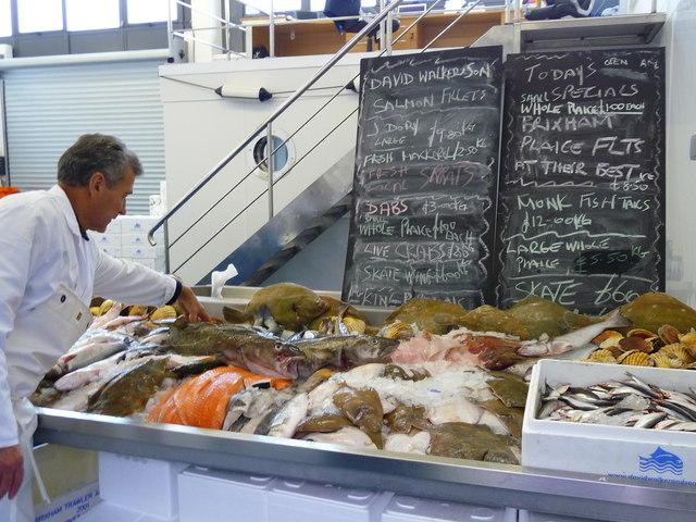 Brixham - Fish Market