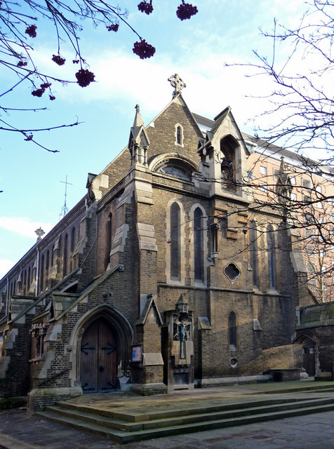 Church of the Holy Cross, Cromer Street, King's Cross