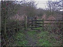 TA0623 : Kissing Gate, Barrow Haven by David Wright