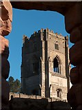 SE2768 : Huby's Tower - Fountains Abbey by Neil Theasby