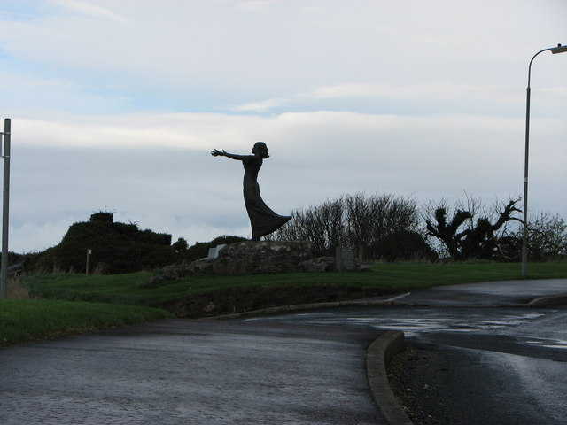 """"""" Gazing out to sea """" Rosses Point"""