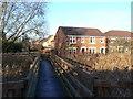SK6036 : Footbridge at Gamston by Alan Murray-Rust