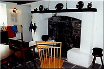 "M1455 : Cong -  ""Quiet Man""  cottage interior fireplace by Joseph Mischyshyn"