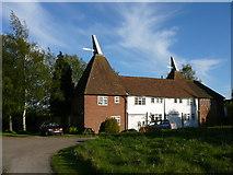 TQ9258 : Church Oast near Kingsdown. by Colin Park
