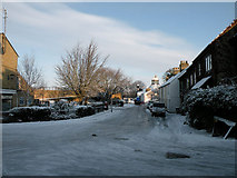 TL4658 : December Snow 2009 - St Matthews St by Keith Edkins