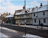 TM0855 : High Street, Needham Market by Andrew Hill