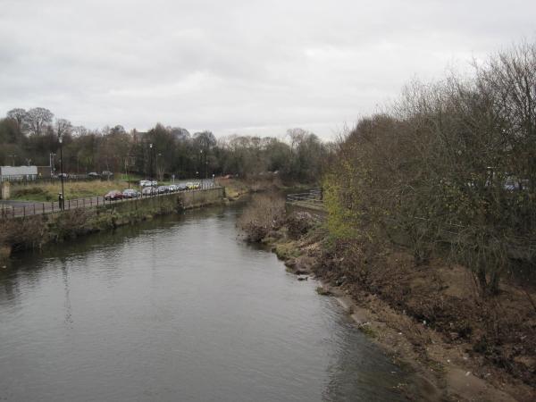 River Wear from Penny Ferry Footbridge, Durham City