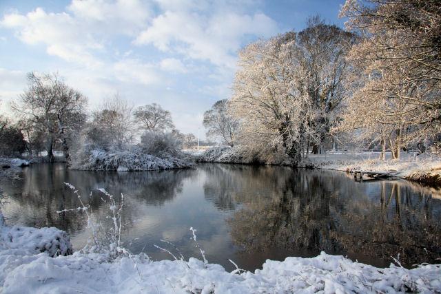 Pond at Little Saxham